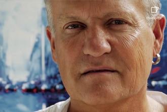 Portrait de l'artiste peintre Daniel Castan